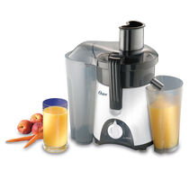 Oster® Compact 400-Watt Juice Extractor, White