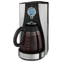BVMC-LMX Series 12-Cup Programmable Coffeemaker, Stainless Steel/Black