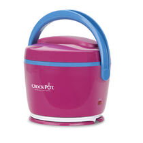 Crock-Pot® Lunch Crock® Food Warmer, Magenta & Sky Blue