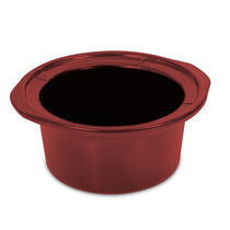 Replacement Stoneware - Crock-Pot® 7-Quart Oval Slow Cooker - Red