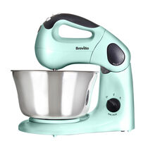 Pick & Mix Hand and Stand Food Mixer, Pistachio, 10 Speeds, 380w