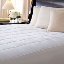 Sunbeam® Premium Quilted Heated Mattress Pad, King