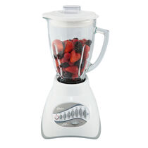Oster® Precise Blend™ 200 Blender - White - Glass Jar