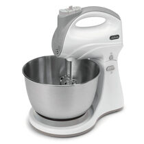 Sunbeam® Hand & Stand 5-Speed Mixer, White