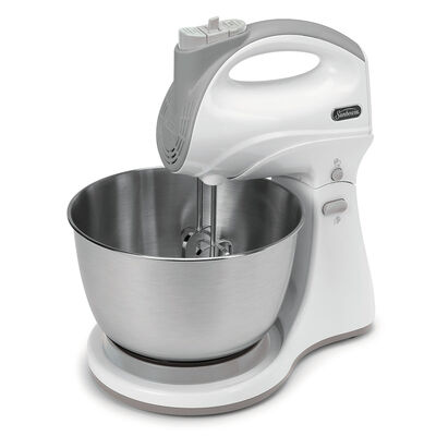 Sunbeam® Hand & Stand 5-Speed Mixer, White