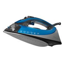 Sunbeam® turbo STEAM™ Iron, Silver & Blue
