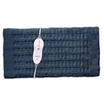Sunbeam® King Size Heating Pad with Digital LED Controller, Navy