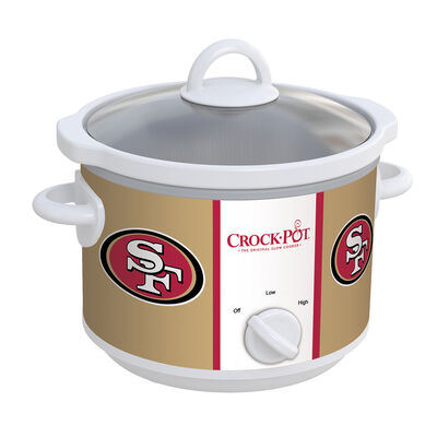 San Francisco 49ers NFL Crock-Pot® Slow Cooker