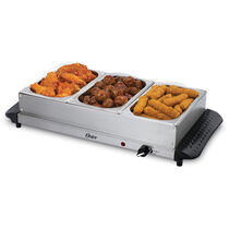 Oster® Small Triple Warming Tray Buffet Server