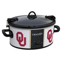 Oklahoma Sooners Collegiate Crock-Pot® Cook & Carry™ Slow Cooker