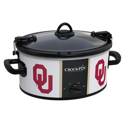 Oklahoma Sooners Collegiate Crock-Pot® Cook & Carry™ Slow Cooker