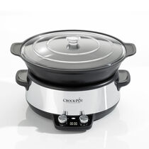 Crock-Pot 6L Digital Sauté Slow Cooker