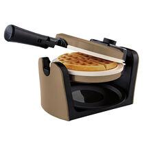 Oster® DuraCeramic™ Flip Waffle Maker - Champagne