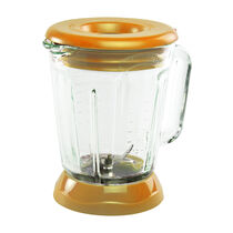 Margaritaville® Plastic Jar with Lid, Tropical Orange Fits Bahamas™, Key West™ & Fiji™