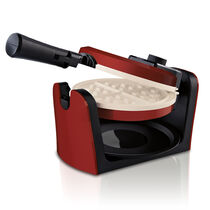 Oster® DuraCeramic™ Flip Waffle Maker - Candy Apple Red