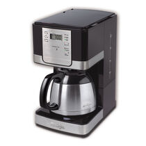 Mr. Coffee® Advanced Brew 8-Cup Programmable Coffee Maker with Thermal Carafe Black/Chrome, JWTX95