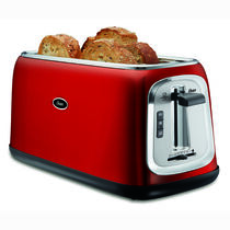 Oster® 4-Slice Long-Slot Toaster, Red