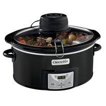 Crock-Pot® Digital Slow Cooker with iStir™ Stirring System, Black