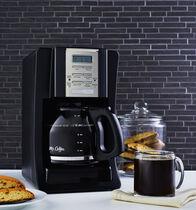 Mr. Coffee® Advanced Brew 12-Cup Programmable Coffee Maker Black/Chrome, BVMC-SJX23-RB