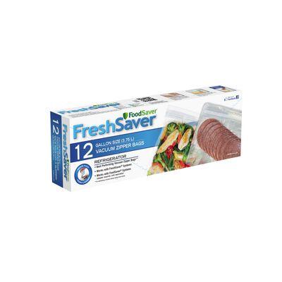 FoodSaver® FreshSaver® Gallon Size Zipper Vacuum Sealer Bags, 12 Count