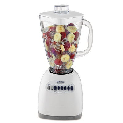 Oster® Simple Blend™ 100 Blender - White - Plastic Jar