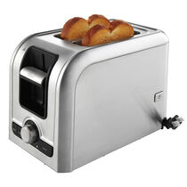 Oster® 2-Slice Retractable Cord Toaster, Brushed Stainless