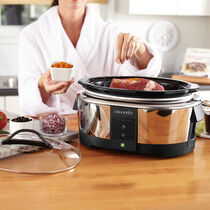 Crock-Pot® 6Qt. Oval WeMo® Enabled Smart Slow Cooker, Stainless