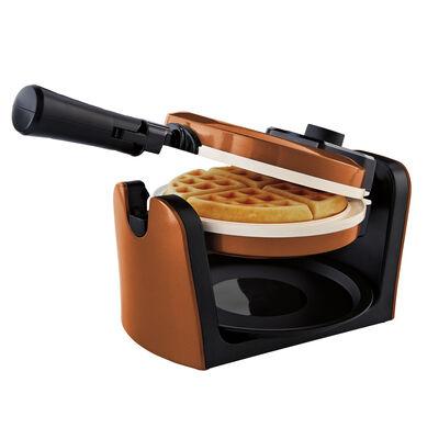 Oster® DuraCeramic™ Flip Waffle Maker - Copper