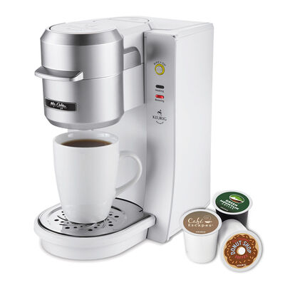 Mr. Coffee® Single Cup K-Cup® Brewing System, 8 ounces