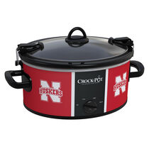 Nebraska Cornhuskers Collegiate Crock-Pot® Cook & Carry™ Slow Cooker