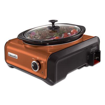 Crock-Pot® Hook Up® Connectable Entertaining System, 3.5-Quart, Metallic Copper