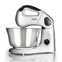 Compact Twin Motor Hand and Stand Food Mixer