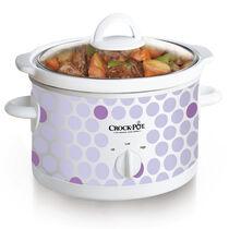Crock-Pot® 2.5-Quart Manual Slow Cooker, Polka Dot Pattern
