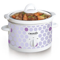 Crock-Pot® 2.5-Quart Manual Slow Cooker, Polka Dot Pattern
