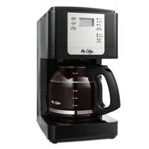 Mr. Coffee® Advanced Brew 12-Cup Programmable Coffee Maker Black/Chrome, JWX23-RB