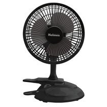 "Holmes®  6"" Table/Clip Convertible Fan-Black"