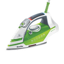 Power Steam 2400w Steam Iron, Stainless Steel Soleplate