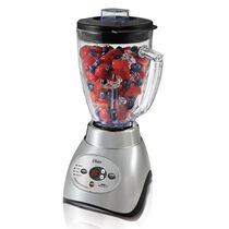Oster® 18-Speed Smart Digital Blender - Brushed Nickel