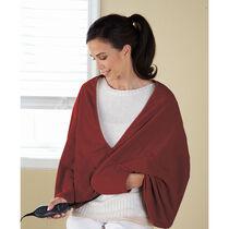 Sunbeam® Fleece Chill-Away™ Heated Wrap, Garnet