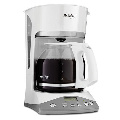 Mr. Coffee® Advanced Brew 12-Cup Programmable Coffee Maker White, SKX20-RB