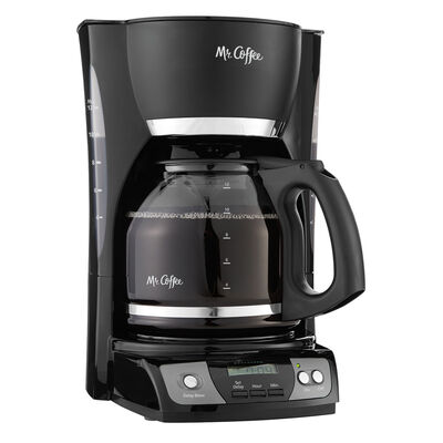Mr. Coffee® Simple Brew 12-Cup Programmable Coffee Maker Black