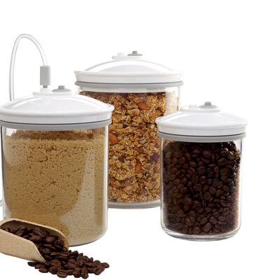 FoodSaver® 3 Piece Round Canister Set