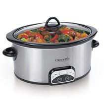 Crock-Pot® Smart-Pot® 6-Quart Slow Cooker, Brushed Stainless Steel