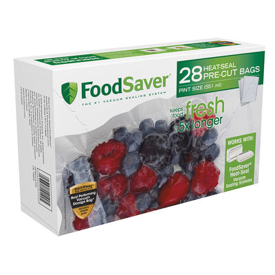 FoodSaver® Pint-Size Heat-Seal Bags, 28 Count