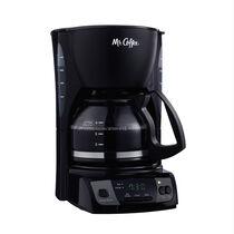 Mr. Coffee® Simple Brew 5-Cup Programmable Coffee Maker Black