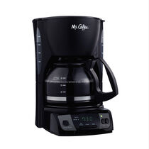 Mr. Coffee® Simple Brew 5-Cup Programmable Coffee Maker Black, CGX7-RB