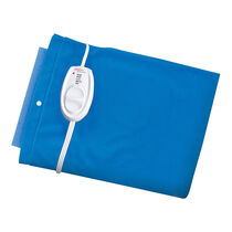 Sunbeam® Moist / Dry Heat Heating Pad with Auto-Off, King Size, Blue