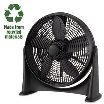 Holmes®  100% Recycled, 20 Inch Whole Room Air Circulator