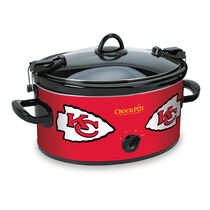 Kansas City Chiefs NFL Crock-Pot® Cook & Carry™ Slow Cooker