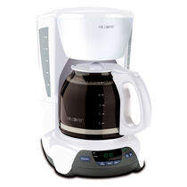 Mr. Coffee® Simple Brew 12-Cup Programmable Coffee Maker White, VBX20-NP